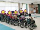 インストラクターは当グループ内の介護職員さん。日本代表です。